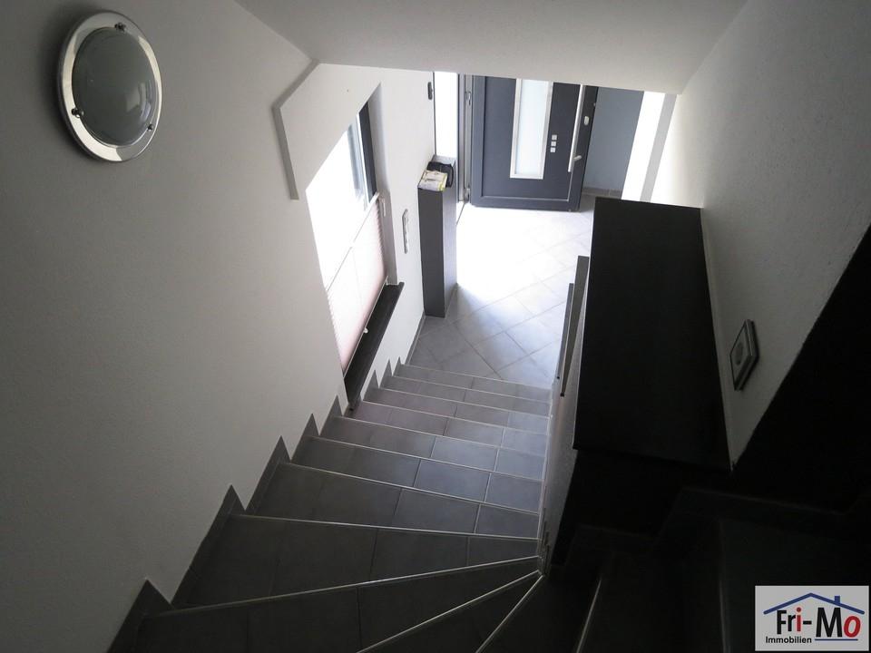 Teilansicht Treppenhaus